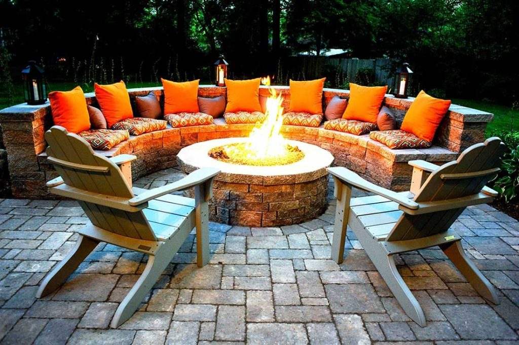 Outdoor fire pits-St Pete FL Outdoor Living & Designs-We offer Landscape Design, Outdoor Patios & Pergolas, Outdoor Living Spaces, Stonescapes, Residential & Commercial Landscaping, Irrigation Installation & Repairs, Drainage Systems, Landscape Lighting, Outdoor Living Spaces, Tree Service, Lawn Service, and more.