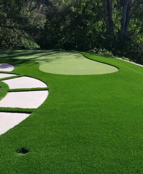 Personal putting green-St Pete FL Outdoor Living & Designs-We offer Landscape Design, Outdoor Patios & Pergolas, Outdoor Living Spaces, Stonescapes, Residential & Commercial Landscaping, Irrigation Installation & Repairs, Drainage Systems, Landscape Lighting, Outdoor Living Spaces, Tree Service, Lawn Service, and more.